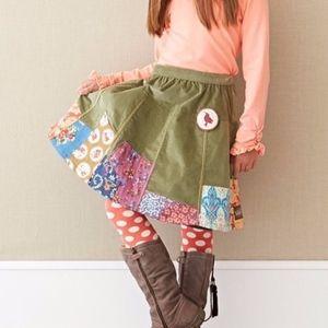 NWT Matilda Jane Emerald Meridian Corduroy Skirt